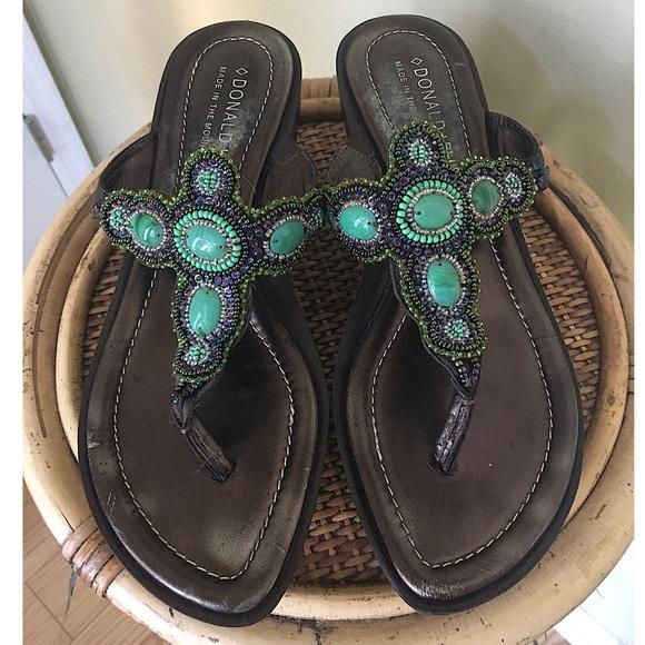 """801aa25bdae00b Donald J. Pliner Shoes - DONALD J PLINER """"CECE"""" EMBELLISHED SANDALS"""